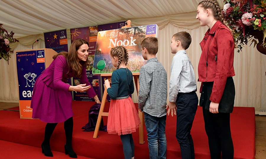 "<strong><a href=""/tags/0/kate-middleton"">Duchess Kate</a></strong> opened a new hospice for East Anglia Children's Hospices, one of her very first patronages, on Nov. 15! The mom of three helped launch a £10 million ($17 million) appeal for the facility in November 2014 and five years later... it's a reality! 