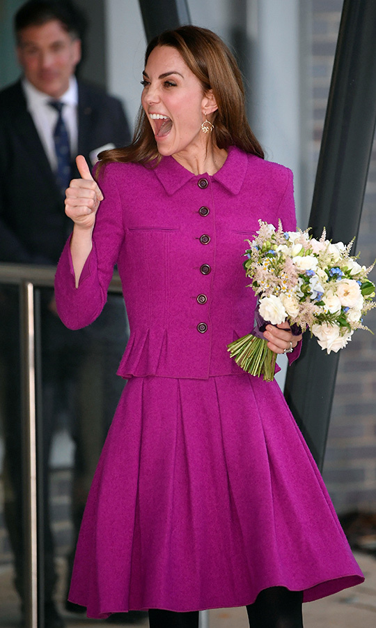 How awesome was Kate's day? THIS awesome! 