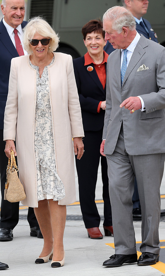 This is the couple's third official joint visit to the country.