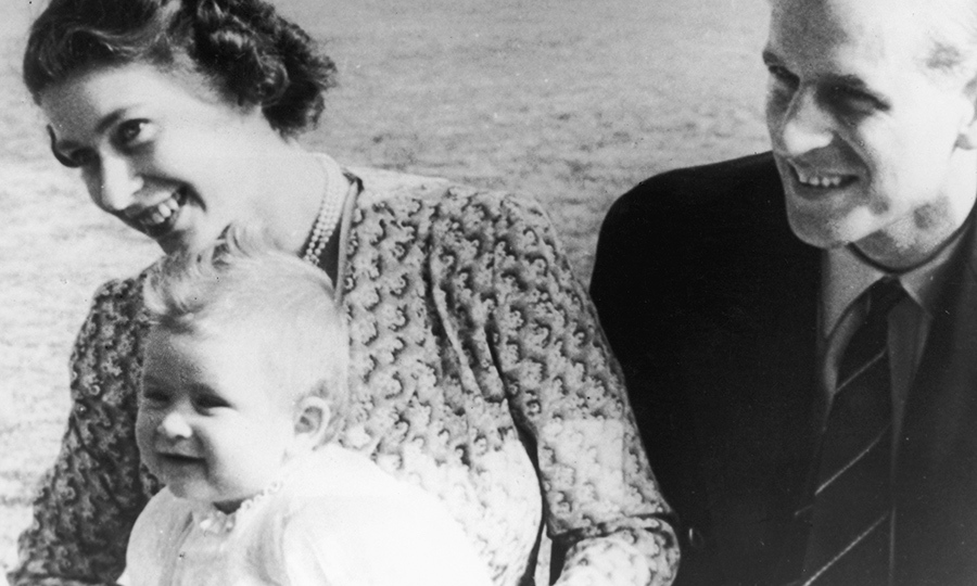 When they weren't on royal engagements, the proud mom and dad spent most of 1949 adjusting to parenthood with their little boy.