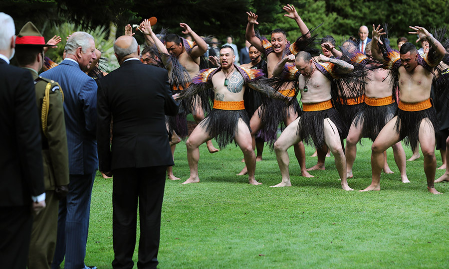 After arriving at Government House, the Duke and Duchess of Cornwall received an incredible Māori welcome.
