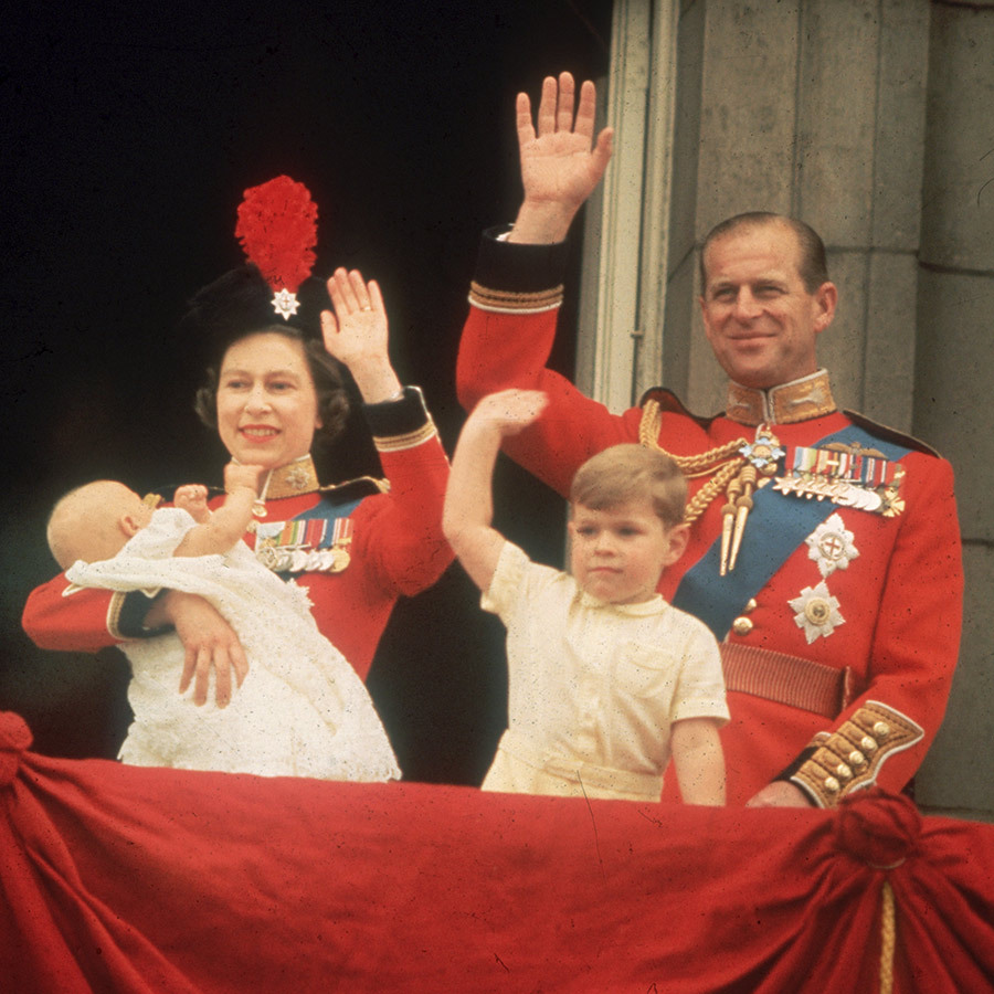 "1964 saw the birth of the couple's fourth and final child, <Strong><a href=""/tags/0/prince-edward"">Prince Edward</a></strong>, who made his debut at <strong><a href=""/tags/0/trooping-the-colour"">Trooping the Colour</a></strong> just a few months later.