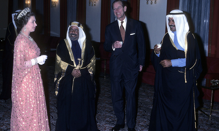 The Queen and Prince Philip travelled to Saudi Arabia and Bahrain in 1979. They enjoyed a meeting with Bahrain's Emir that was full of laughs.