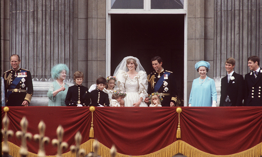 "Philip and the Queen beamed on the Buckingham Palace balcony after Prince Charles married <strong><a href=""/tags/0/princess-diana"">Princess Diana</a></strong> in 1981. 