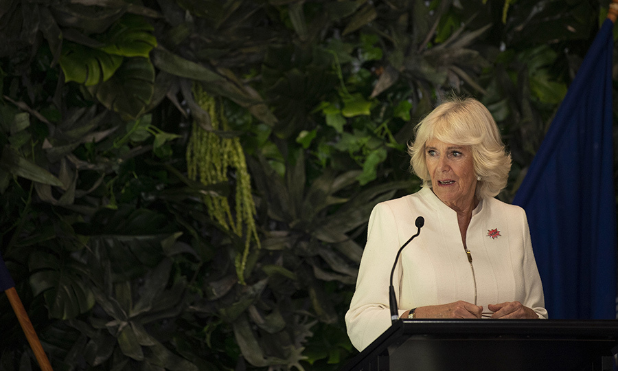 Camilla also attended a Women of the World event at Government House that evening, at which she gave a speech.