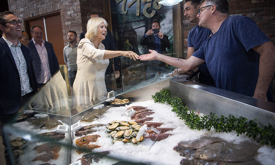 She then stepped out to Riverside Market in Christchurch, where she got a very good look at some of the incredible meats and seafood products on offer!