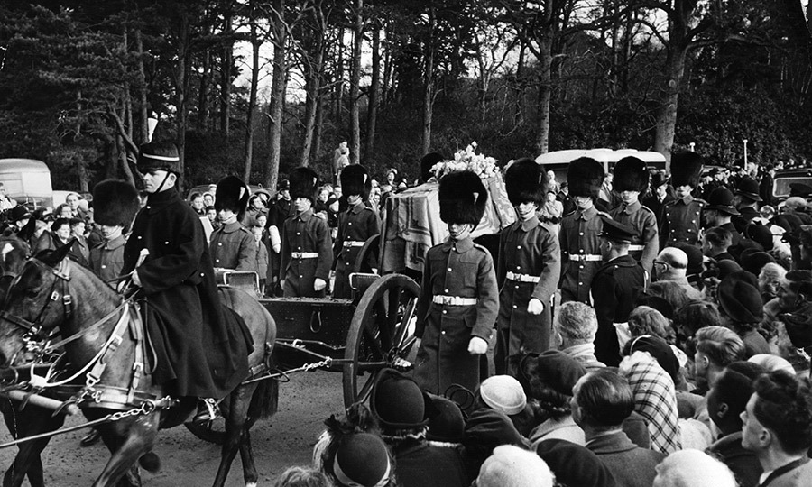 Fifteen years later, his son, <strong><a href=/tags/0/king-george-vi>King George VI</a></strong>, also passed away at Sandringham. His body stayed at the church for two days prior to being taken by funeral procession from Sandringham to London, where he then laid in state again at Westminster Hall before his funeral.