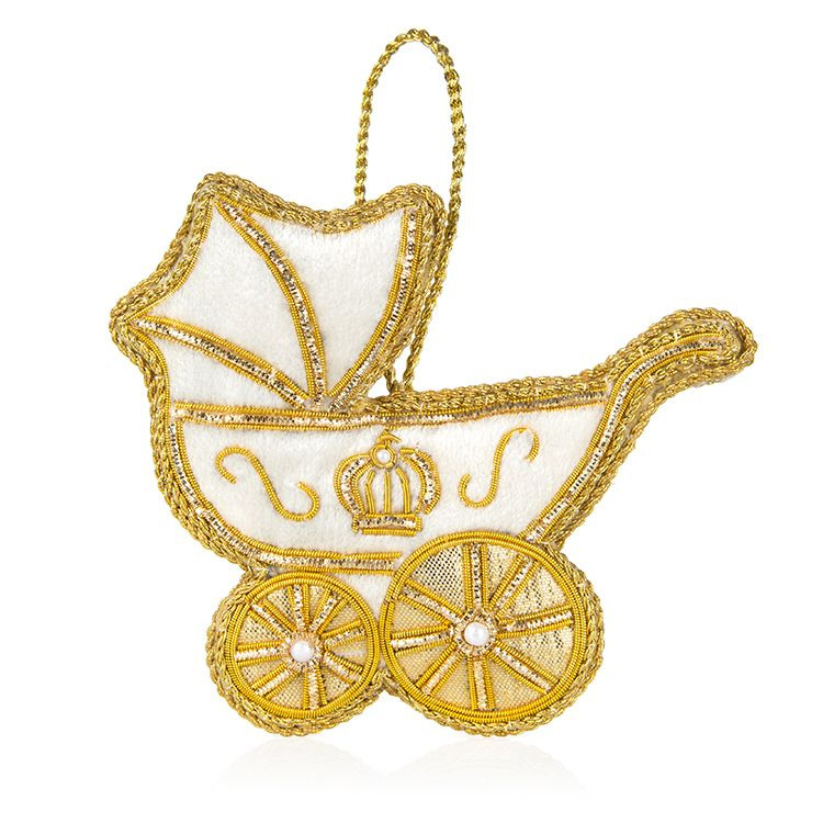 Originally created for <Strong><a href=/tags/0/prince-louis>Prince Louis</a></strong>'s birth in 2017, this ornament is also great for celebrating <strong><a href=/tags/0/archie-harrison>Archie</a></strong>'s arrival and is perfect for your tree.