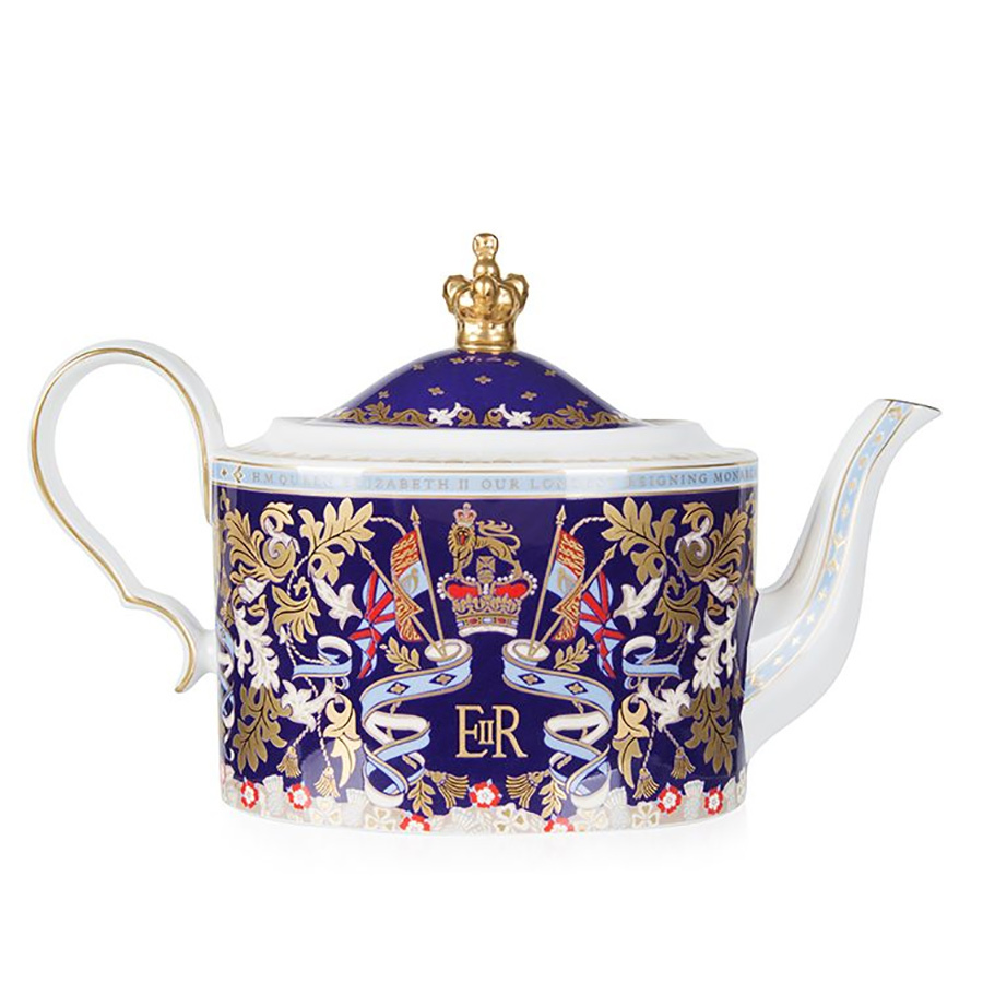 The Queen has been on the throne longer than any other monarch, and to celebrate, the Royal Collection Shop released this incredible commemorative teapot in 2015. It's made of fine bone china and features the coat of arms used in her coronation in 1953. It's perfect for your grandparent or parent or the person who you know will bring it out during get-togethers and make all their guests exclaim in awe. 