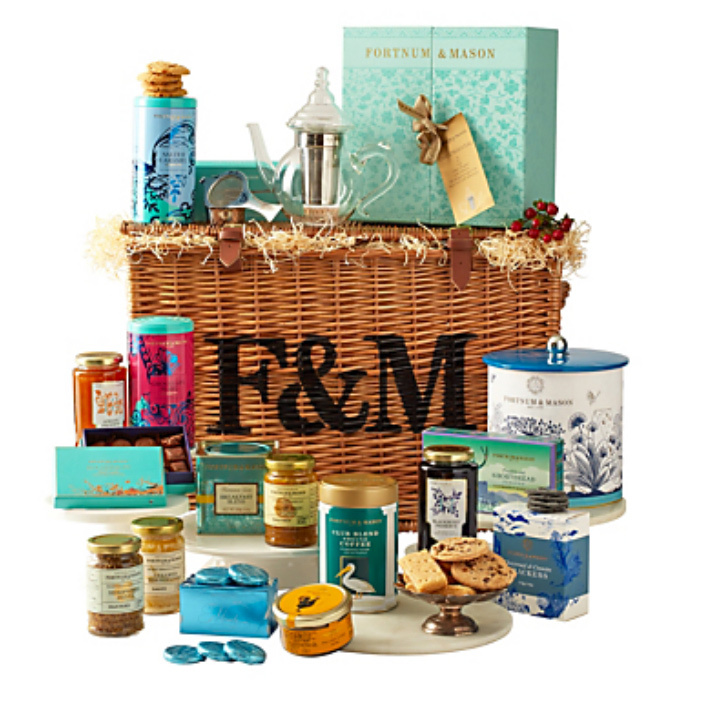 This is for a very sweet person who is at the top of your Nice List. <strong><a href=/tags/0/fortnum-and-mason>Fortnum & Mason</a></strong> have provided goods for the <strong><a href=/tags/0/royal-family>Royal Family</a></strong> since the days of <strong>Queen Anne</strong> in 1707. Their Burlington Hamper contains chocolates galore, marzipan, cookies, marmalade, jellies and jams, fruitcake and sweetmeats, tea and coffee and is perfect for the holiday season. 