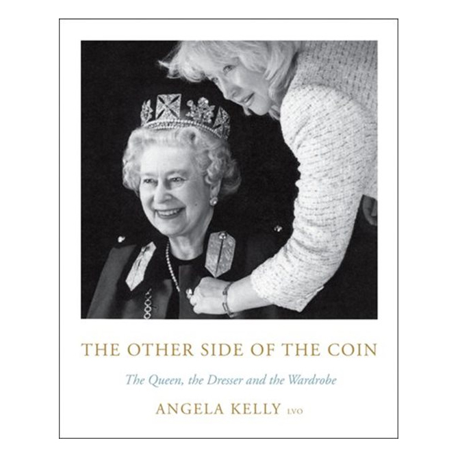 Earlier this year, the Queen's longtime dressmaker <strong><a href=/tags/0/angela-kelly>Angela Kelly</a></strong> released a new memoir, <i>The Other Side of the Coin: The Queen, the Dresser and the Wardrobe</i>. In it, she shares decades of secrets and some hilarious stories about the fun and amazing experiences she's had designing outfits for Her Majesty. It's perfect for any royals lover, as it gives new insights into the Queen's personality and wonderful sense of humour.