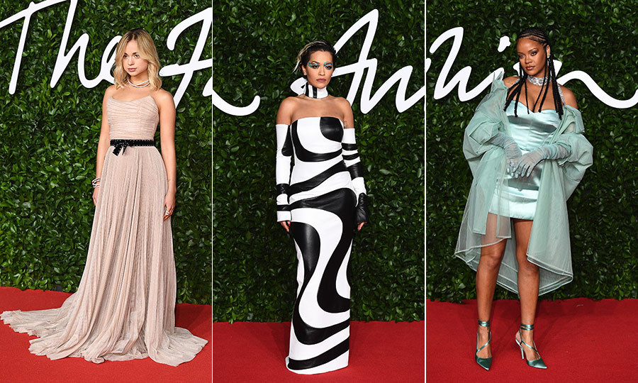 The 2019 Fashion Awards were a chilly, 2 degrees Celsius affair at London's Royal Albert Hall on Dec. 2, but there were plenty of hot looks on the red carpet despite how cold it was outside! 