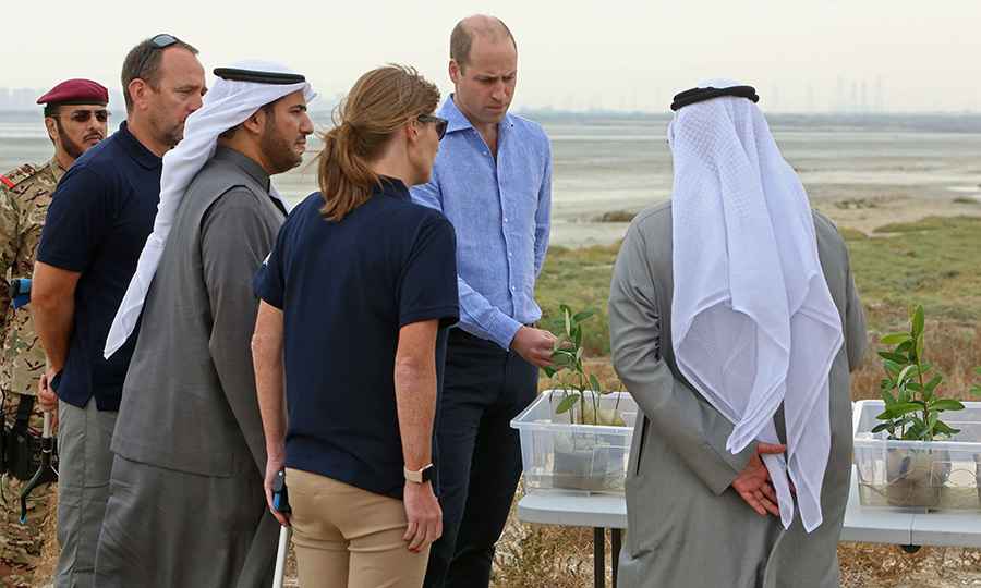 Just like his father, <strong><a href=/tags/0/prince-charles>Prince Charles</a></strong>, the Duke of Cambridge is a keen environmentalist. 