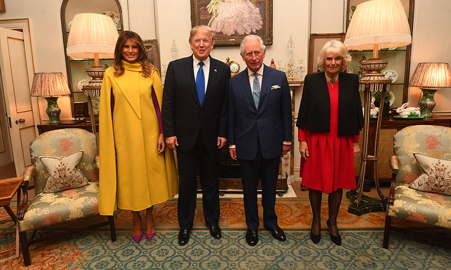 Charles and <strong><a href=/tags/0/camilla-parker-bowles>Duchess Camilla</a></strong> also met with US President <strong><a href=/tags/0/donald-trump>Donald Trump</a></strong> and US First Lady <strong><a href=/tags/0/melania-trump>Melania Trump</a></strong> earlier in the day.