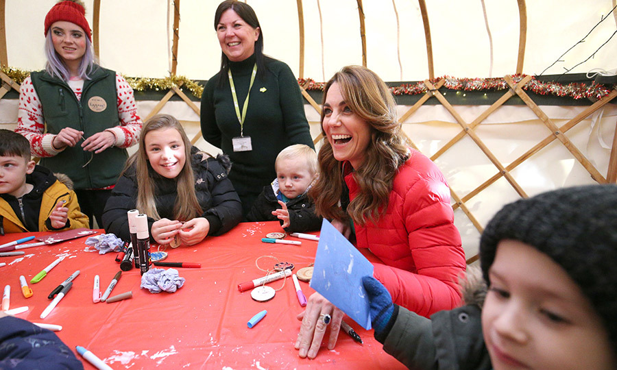 Kate also got very involved in making arts and crafts! We're thrilled everyone had such a great day!