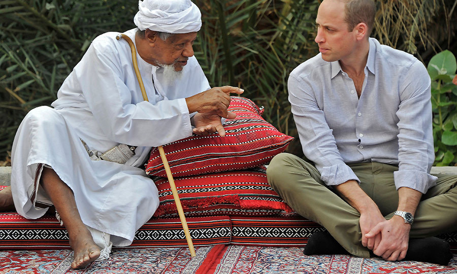 He then spent time listening to elders talk about environmental concerns. Just like his father <strong><a href=/tags/0/prince-charles>Prince Charles</a></strong>, the Duke of Cambridge is a keen environmentalist who is passionate about conservation issues.
