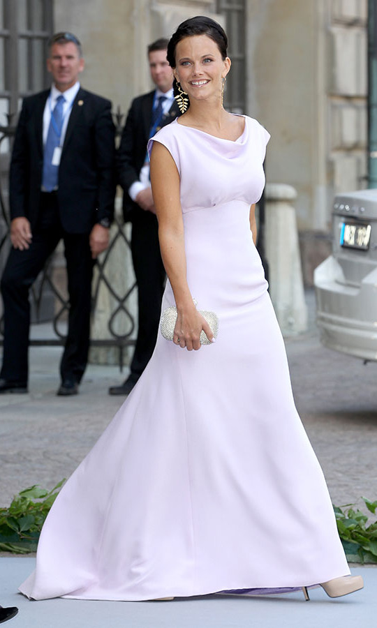 It's evident that Sofia always had a strong sense of fashion. On June 8, 2013, the then-commoner attended the wedding of Princess Madeleine of Sweden and <strong>Christopher O'Neill</strong> at The Royal Palace on June 8, 2013. Her cotton candy pink gown was cut to perfection with its draped neckline and billowing skirt.