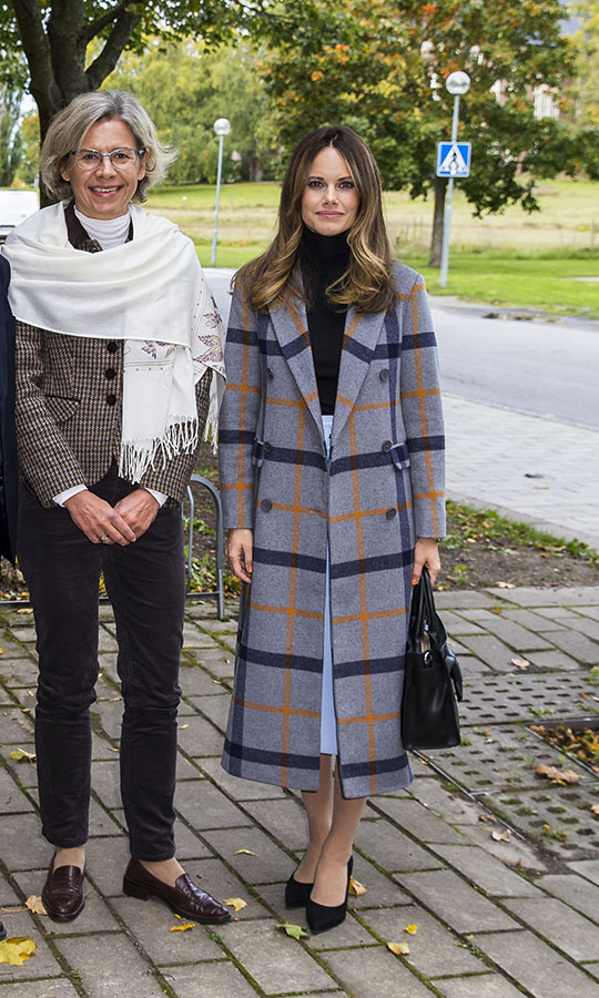 Princess Sofia of Sweden turned heads when she arrived at Stockholm University to attend the Learning and Dyslexia conference on Oct. 2, 2019 in Stockholm. 
