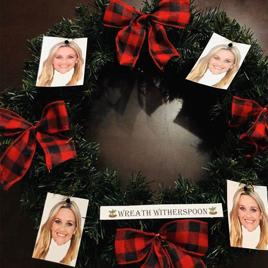 "<strong>Reese Witherspoon</strong><p></p><strong><a href=""https://ca.hellomagazine.com/tags/0/reese-witherspoon"" target=""_blank"">Reese Witherspoon</a></strong> and fans are continuing to celebrate ""Wreath Witherspoon"" after it was initially introduced in the 2014 Christmas episode of <em>The Mindy Project</em>. The actress shared some one-of-a-kind wreaths online. <p></p>Photo: © Instagram/reesewitherspoon"
