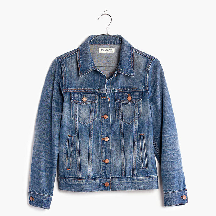 "The Jean Jacket in Pinter Wash by <a href=""https://ca.hellomagazine.com/tags/0/madewell"" target=""_blank""><strong>Madewell</strong></a> was one of the most-loved pieces Meghan wore while <a href=""https://ca.hellomagazine.com/fashion/02019092453069/meghan-markle-madewell-jean-jacket-cape-town/"" target=""_blank"">visiting Cape Town in Sept. 2019</a>. Royal fans will be pleased to see that it's still available and sells for under $200. It's a classic and comfortable denim jacket that can be worn with almost anything.</p><p><a href=""https://www.madewell.com/the-jean-jacket-in-pinter-wash-F0370.html"" target=""_blank"">Madewell</a>, $160.85</p><p>Screenshot via madewell.com"