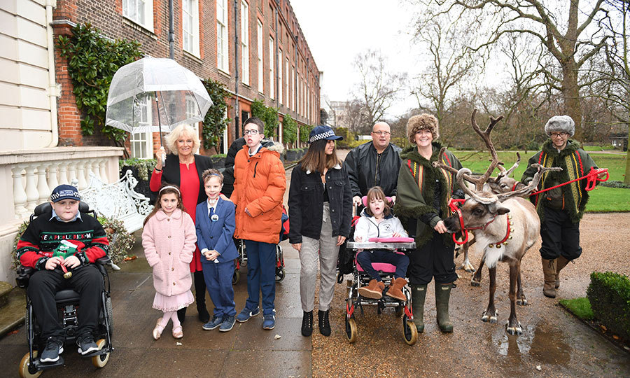 Every December, <strong><a href=/tags/0/camilla-parker-bowles>Duchess Camilla</a></strong> hosts a very special charity party at her home of Clarence House.