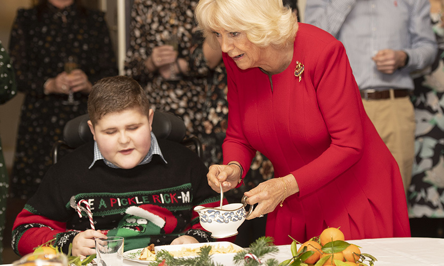 Camilla is an excellent cook herself, with tons of experience cooking Christmas dinner - including gravy! So she wanted to make extra sure everyone who was there had a full meal with all the fixings.