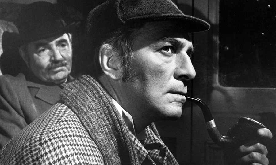 He took on another mystery film in 1979, playing Sherlock Holmes to James Mason's Watson in <i>Murder by Decree</i>.