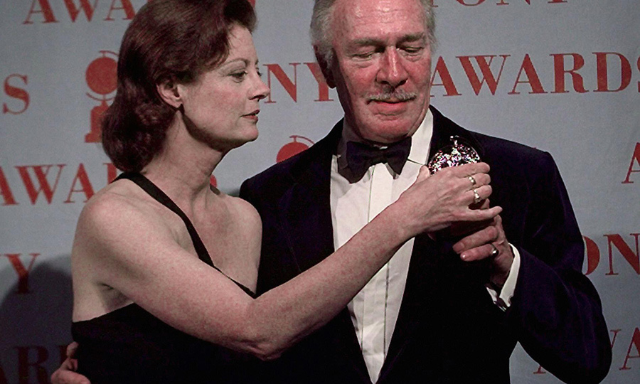 A particularly sweet moment saw Christopher win his second Tony Award in 1997. <strong><a href=/tags/0/susan-sarandon>Susan Sarandon</a></strong> presented him with the trophy for his role in <i>Barrymore</i>.