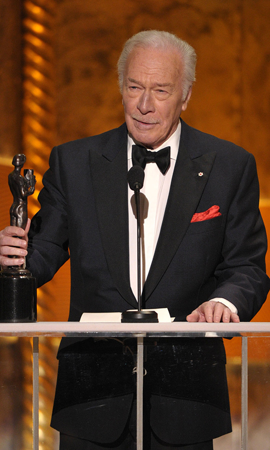 He also took home a Screen Actors Guild Award that year for the same role...