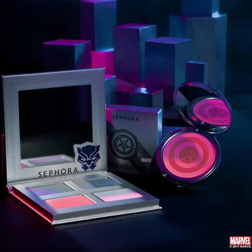 <strong>Sephora x Marvel</strong></p><p>The Sephora x Marvel collection brought makeup and comics together in a not-to-be-forgotten collection. Unfortunately, the fierce range was only available overseas in places like Thailand and Singapore. That means fans had to be in one of the lucky countries to get a Captain America Blush Palette and Black Panther Highlighting Palette.</p><p>Photo: © Instagram/sephora
