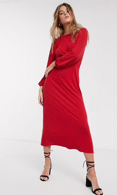 Get The Look The Best Red Holiday Dresses Inspired By