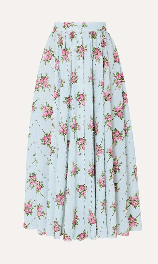 "<a href=""https://ca.hellomagazine.com/tags/0/emilia-wickstead/"" target=""_blank""><strong>Emilia Wickstead</strong></a> is another one of Kate's favourite designers. This floral-print swiss-dot cotton-blend seersucker midi skirt brings to mind the cheerful outfit she wore on <strong><em><a href=""https://ca.hellomagazine.com/fashion/royal-style/2019121782110/kate-middleton-emilia-wickstead-dress-mystery-christmas-bbc-special/"" target=""_blank"">A Berry Royal Christmas</em></strong></a>. The floral skirt can be worn again and again in the warmer weather.</p><p><a href=""https://www.net-a-porter.com/ca/en/product/1139338/Emilia_Wickstead/floral-print-swiss-dot-cotton-blend-seersucker-midi-skirt"" target=""_blank"">Net-a-Porter</a>, $648</p><p>Screenshot via net-a-porter.com"