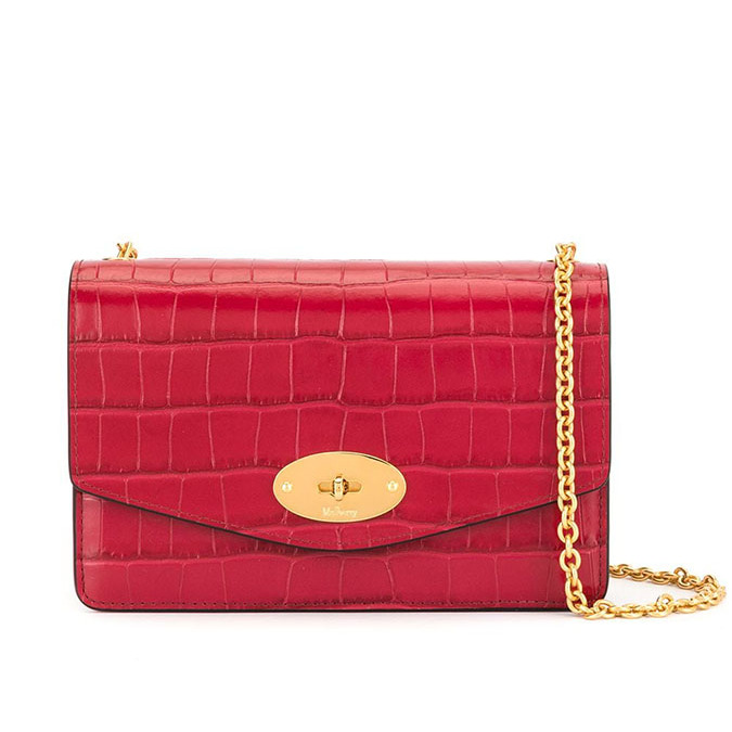 "This striking bag is a splurge-worthy pick for royal fans who have been really good this year. The <a href=/tags/0/mulberry><strong>Mulberry</a></strong> small Darley shiny crocodile effect bag would enliven any outfit thanks to its bold colour and chain strap. The miniature size makes it appropriate for evening as well as for a small day bag.</p><p><a href=""https://www.farfetch.com/ca/shopping/women/mulberry-small-darley-shiny-crocodile-effect-bag-item-14578808.aspx"" target=""_blank"">Farfetch</a>, $1,505</p><p>Screenshot via farfetch.com"