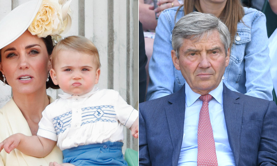 "Prince Louis also bears strong resemblance to his grandfather <a href=""https://ca.hellomagazine.com/tags/0/michael-middleton/""><strong>Michael Middleton</strong></a>. Even with decades between them, they still share the same pensive looks and facial features!