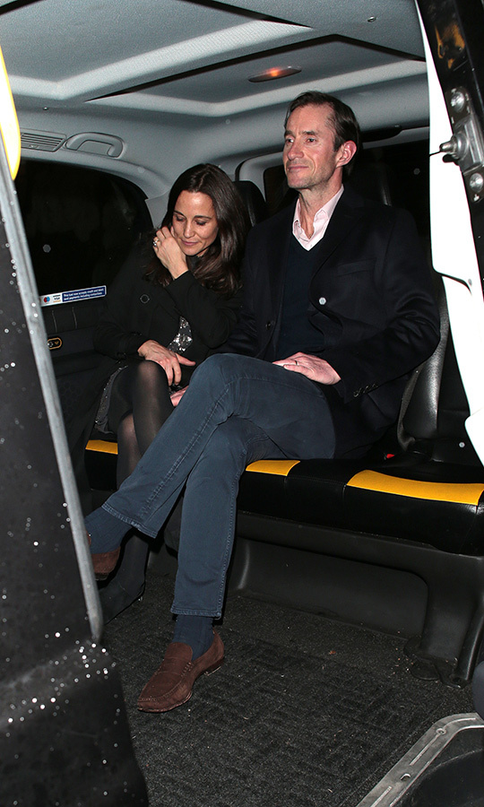 <a href=/tags/0/pippa-middleton><strong>Pippa Middleton</a></strong> and her husband <a href=/tags/0/james-matthews><strong>James Matthews</a></strong> were also there.