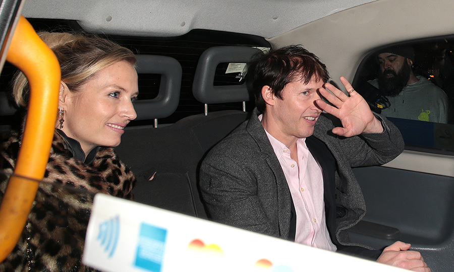 Singer <Strong><a href=/tags/0/james-blunt>James Blunt</a></strong> and his wife <Strong>Sofia Wellesley</strong> were also there!
