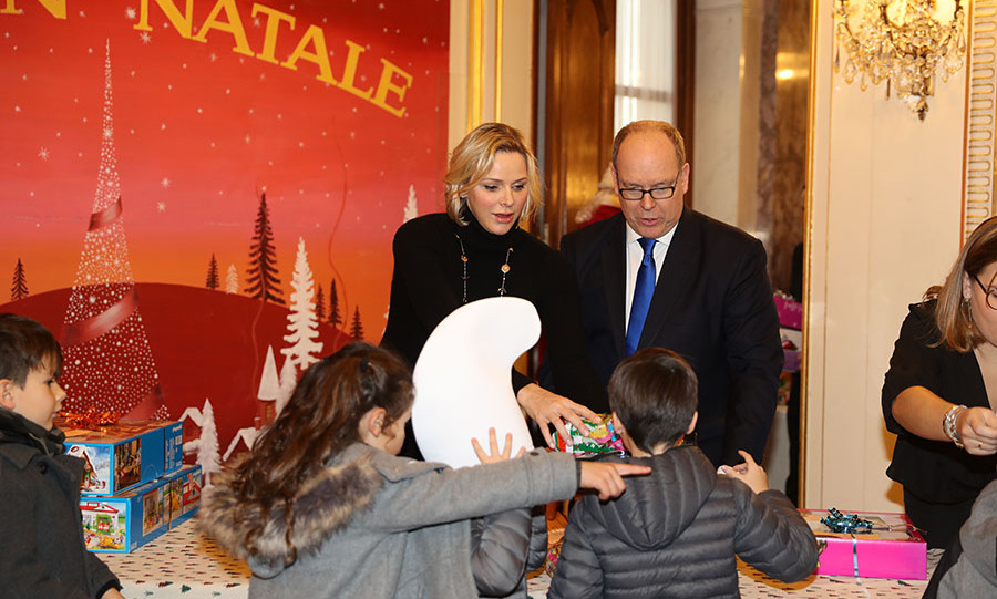 "<h2>Prince Albert and Princess Charlene</h2><p></p>Bon Natale! The <a href=""https://ca.hellomagazine.com/tags/0/monaco-royals/""><strong>Monaco royals</strong></a> continued the tradition of hosting a children's Christmas event at the Monaco Palace on Dec. 18. Underprivileged children are invited to the palace and there is a toy drive for them.