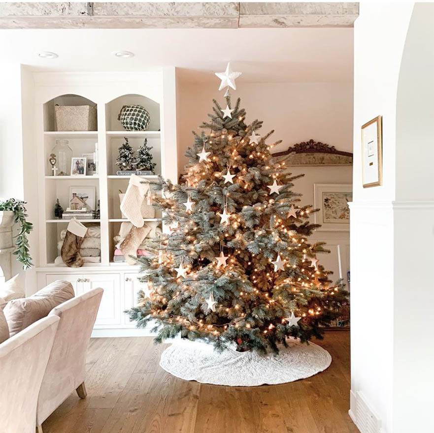 "<h2>Jillian Harris</h2><p><strong><a href=""https://ca.hellomagazine.com/tags/0/jillian-harris"">Jillian Harris</strong></a>'s Christmas tree transforms the whole room. She admitted that ""we kind of overestimated the size of our tree"" but in the end she loves how big it is!<p>Photo: © Instagram/jillian.harris"