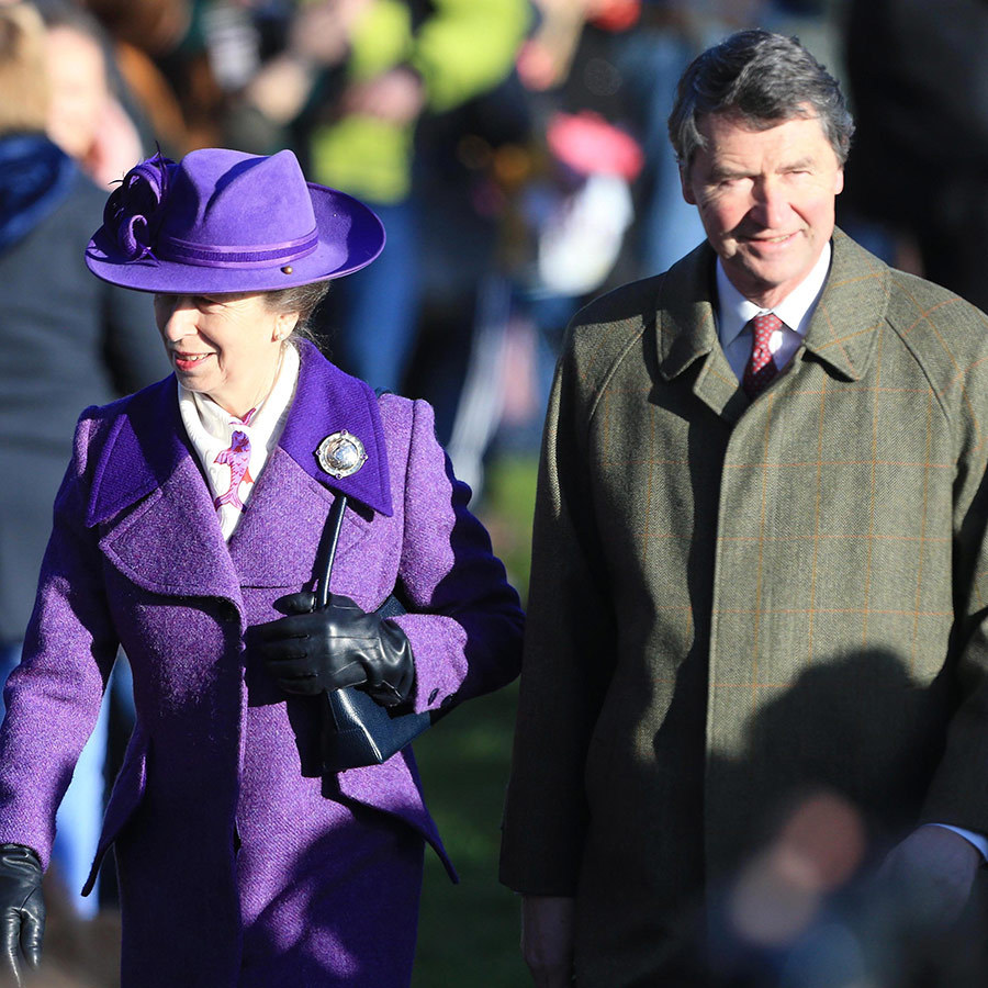 <a href=/tags/0/princess-anne><strong>Princess Anne</a></strong> looked very stylish in a purple coat and matching hat! Her husband <strong><a href=/tags/0/timothy-laurence>Timothy Laurence</a></strong> was with her.