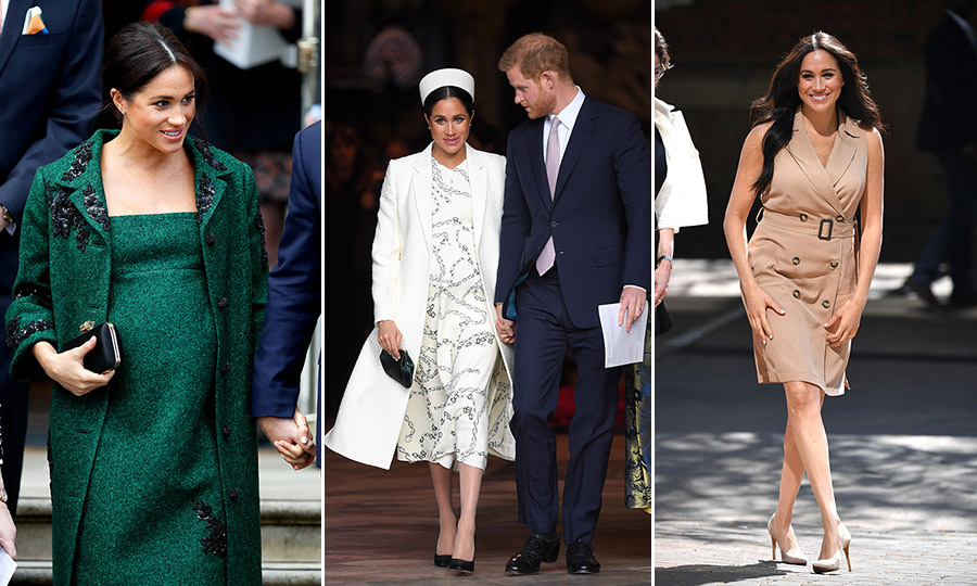 "<strong>By Heather Cichowski</strong></p><p>What a fashionable year it has been for <a href=""https://ca.hellomagazine.com/tags/0/meghan-markle""><strong>Duchess Meghan</strong></a>! Meghan might have been on maternity leave for part of 2019 after giving birth to her and <a href=""https://ca.hellomagazine.com/tags/0/prince-harry""><strong>Prince Harry</strong></a>'s son <a href=""https://ca.hellomagazine.com/tags/0/archie-harrison""><strong>Archie</strong></a> on <a href=""https://ca.hellomagazine.com/royalty/02019051751496/royal-baby-archie-harrison-place-of-birth-revealed""><Strong>May 6</strong></a> but she still made many stylish royal engagements, including <a href=""https://ca.hellomagazine.com/fashion/02019100153116/meghan-markle-south-africa-royal-tour-style""><Strong>the royal tours of South Africa</strong></a> and <a href=""https://ca.hellomagazine.com/royalty/02019022349995/prince-harry-meghan-markle-morocco-royal-tour-photos/""><strong>Morocco</strong></a>. And the former actress's <a href=""https://ca.hellomagazine.com/fashion/02018101547924/meghan-markle-maternity-looks""><strong>maternity style</strong></a> was as dazzling as her other looks. So, it is tough to choose the very best outfits with so many incredible options to pick from!