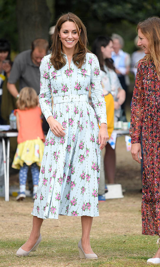 "<h2>Back to Nature Festival, Sept. 9</h2></p><p>What a beauty in blooms! This patterned <a href=""https://ca.hellomagazine.com/tags/0/emilia-wickstead"" target=""_blank""><strong>Emilia Wickstead</strong></a> frock would have been an incredible look no matter where Kate wore it, but it was a smash hit when she donned it to the <a href=""https://ca.hellomagazine.com/fashion/02019091052892/kate-middleton-emilia-wickstead-dress-back-to-nature-garden"" target=""_blank""><strong>Back to Nature Festival</strong></a> at RHS Garden Wisley on Sep. 10 in Woking, England.</p><p>Photo: © Karwai Tang/WireImage"