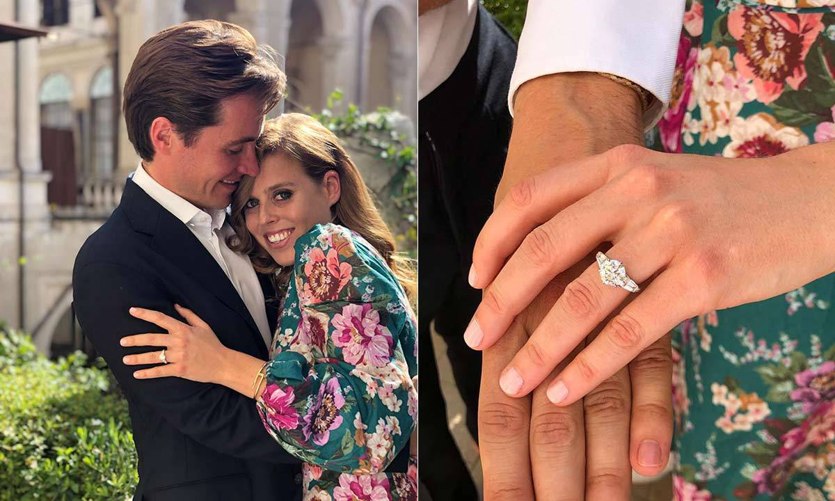 <h2>Princess Beatrice and Edoardo Mapelli Mozzi - Sept. 26</h2>