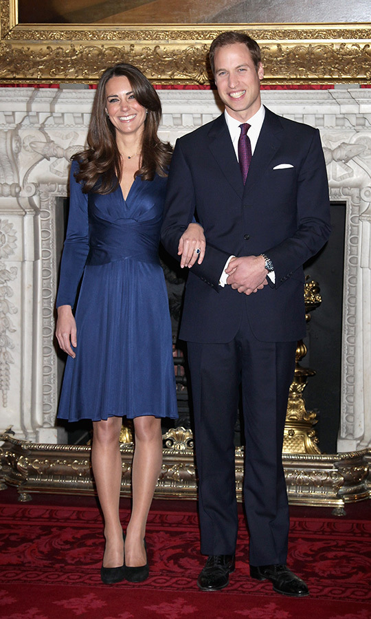 <h2>Duchess Kate and Prince William, 2010</h2>
