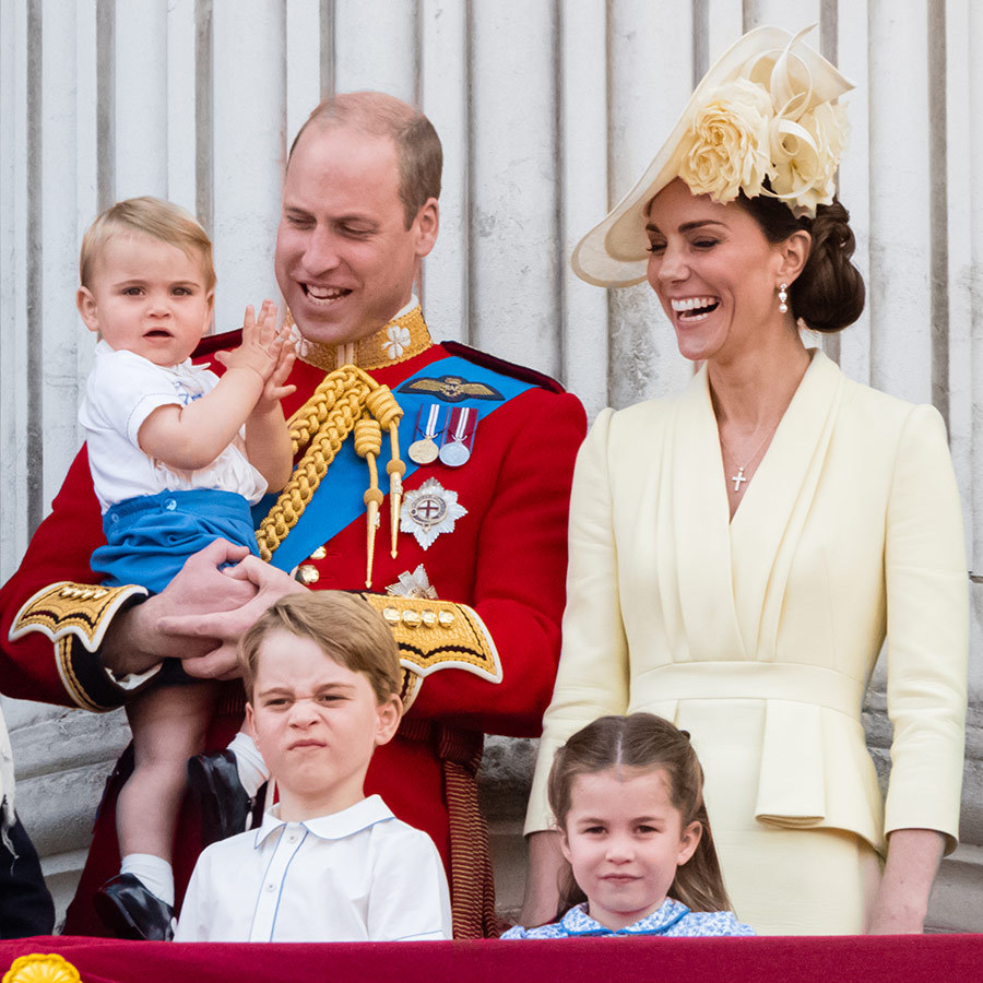 <h2>The Cambridge family, 2019</h2>