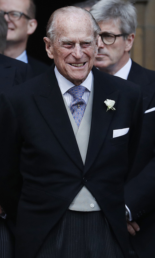 <h2>Prince Philip, 2019</h2>