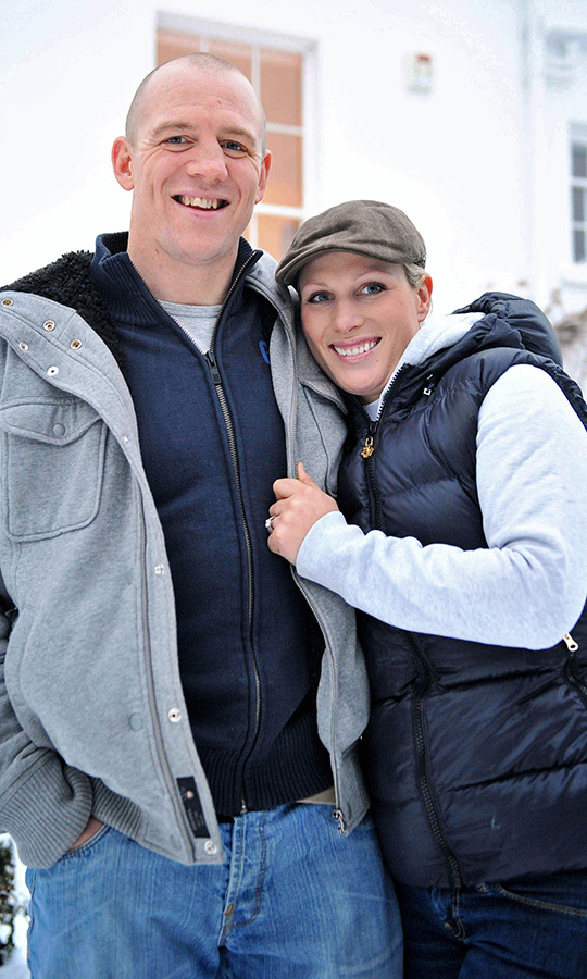 <h2>Mike Tindall and Zara Phillips, 2010</h2>