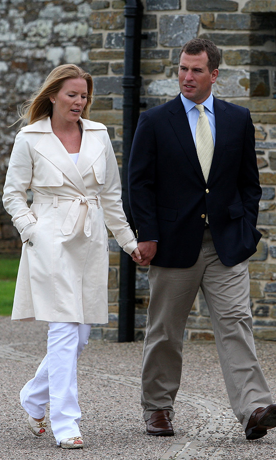 <h2>Autumn and Peter Phillips, 2010</h2>