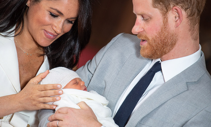 On May 8, two days after he was born, proud parents <strong><a href=/tags/0/meghan-markle>Duchess Meghan</a></strong> and <Strong><a href=/tags/0/prince-harry>Prince Harry</a></strong> introduced little <strong><A href=/tags/0/archie-harrison>Archie</a></strong> to the world.