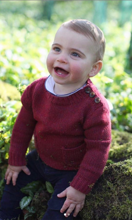 <h2>No. 8: Prince Louis's first birthday</h2>