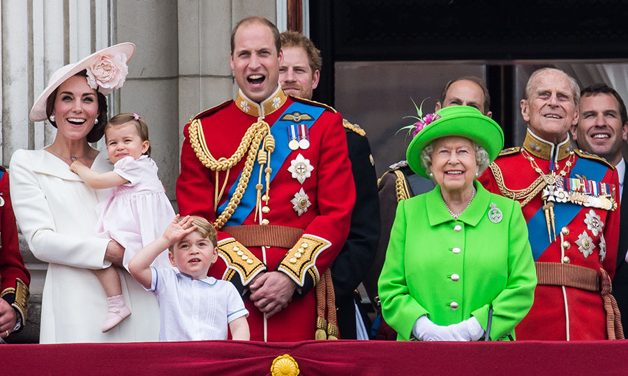 "<h2>Trooping The Colour, 2016</h2></p><p>There was no missing the Queen during <a href=""https://ca.hellomagazine.com/tags/0/trooping-the-colour/"" target=""_blank""><strong>Trooping the Colour</strong></a>. She wore an electric chartreuse coat and fascinator to commemorate her official 90th birthday on June 11 in London.<p>Photo: © Samir Hussein/WireImage"
